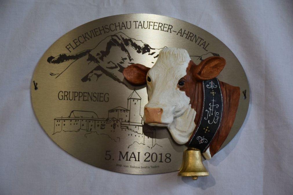 Fleckvieh Gebietsausstellung Tauferer-Ahrntal am 05.05.2018 in Luttach